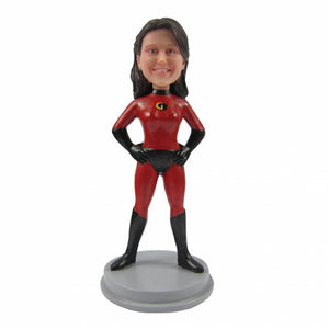 Super Woman Personalized Custom Bobbleheads - BobbleGifts