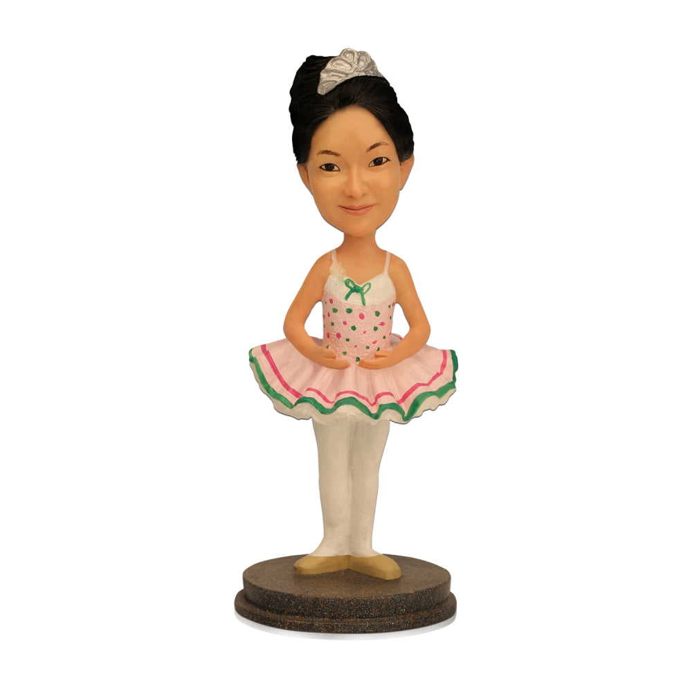 Ballet Girl Personalized Custom Bobblehead - BobbleGifts