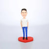 Custom Man Bobble Head Doll - BobbleGifts