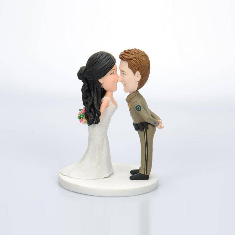 Custom Wedding Couple Cake Toppers For Sale