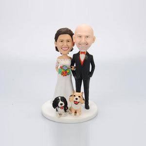 Custom Wedding Anniversary Couple Bobblehead Gift