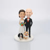 Custom Anniversary Couple Bobblehead - BobbleGifts