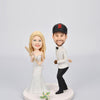 Custom Wedding Couple Bobblehead for Baseball Fans - BobbleGifts