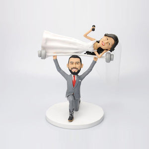 Funny Wedding Cake Topper Bobbleheads Dolls