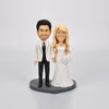 Custom Wedding Couple Bobblehead Doll - BobbleGifts