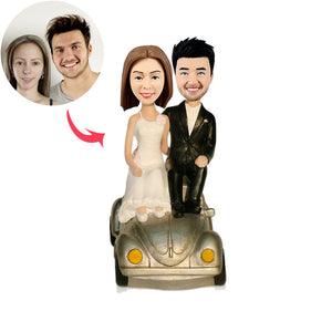 Custom Wedding Couple Bobblehead - BobbleGifts
