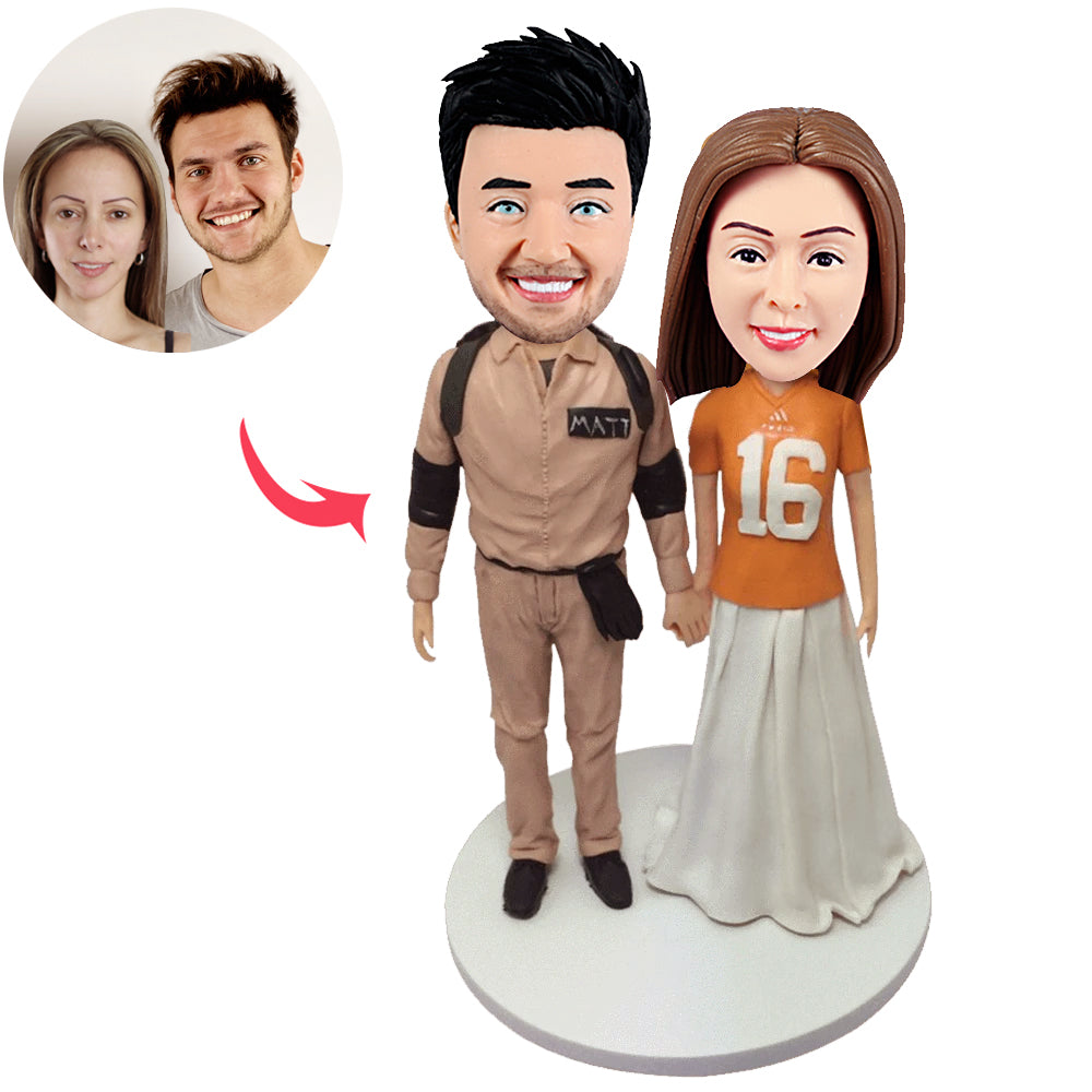 Personalised Couple Custom Bobblehead - BobbleGifts
