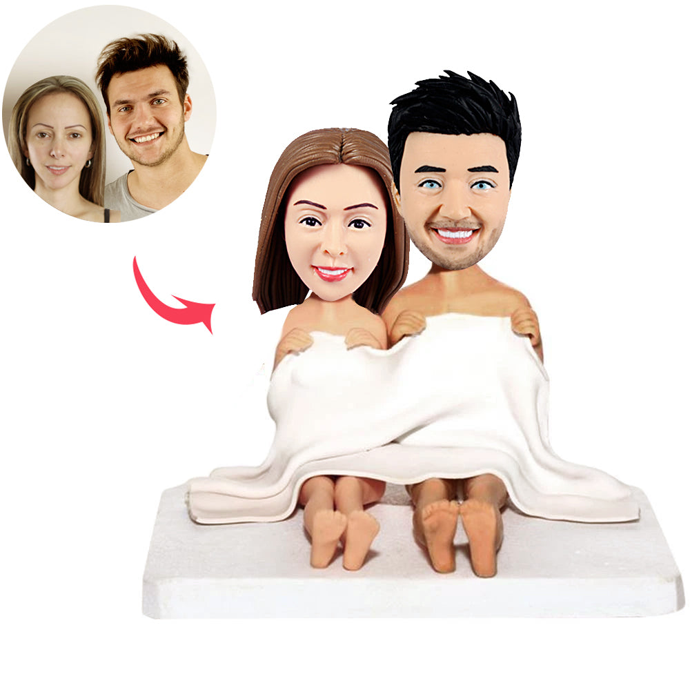 Custom Honeymoon Couple Bobblehead - BobbleGifts