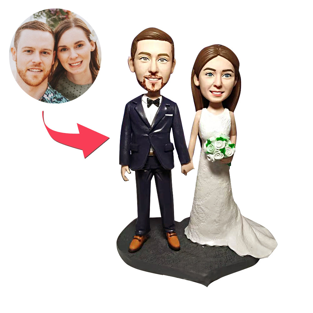 Wedding Couples Custom Bobblehead - BobbleGifts
