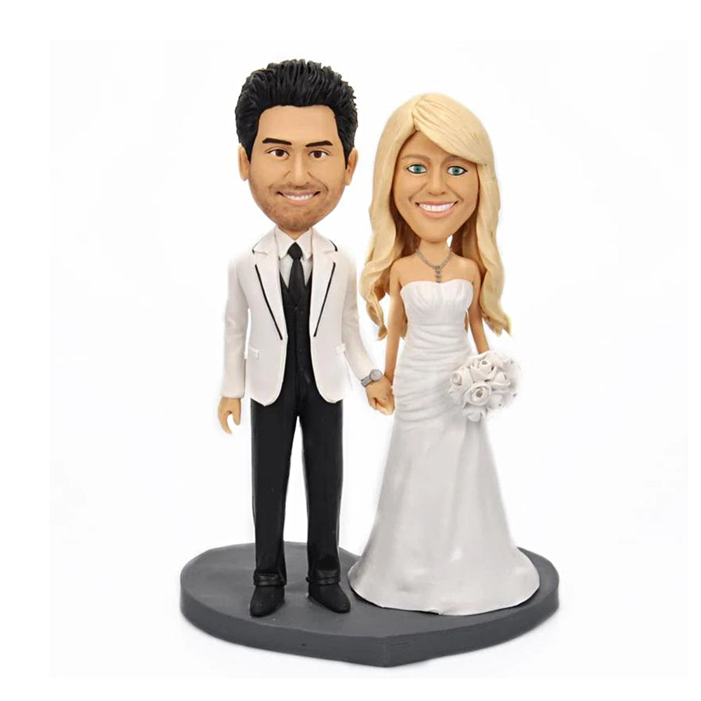 Custom Bobblehead Wedding Couple - BobbleGifts