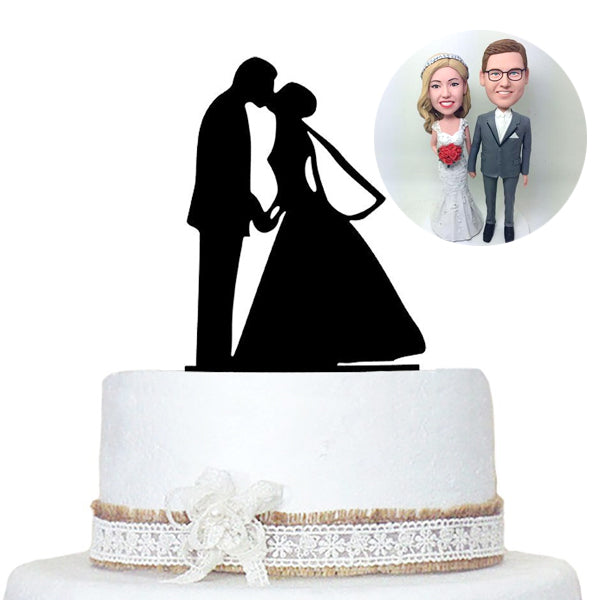 Wedding Cake Toppers Custom Bobbleheads - BobbleGifts