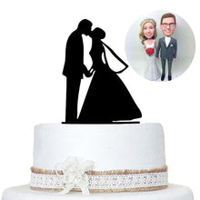 Custom Bobbleheads Wedding Cake Toppers