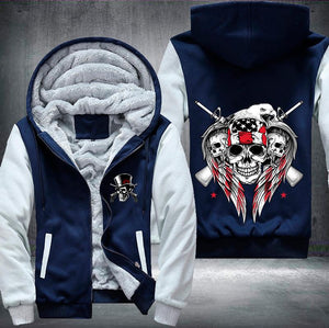 American Skull Fleece Jacket - LIMITED EDITION
