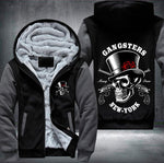 GANGSTERS Skull Fleece Jacket - LIMITED EDITION