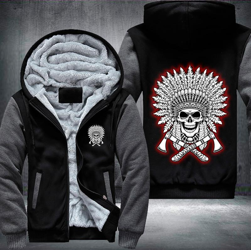 Skull Legend Fleece Jacket - LIMITED EDITION V1