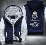 Keep Calm Nurse Fleece Jacket - 50% OFF - LIMITED EDITION