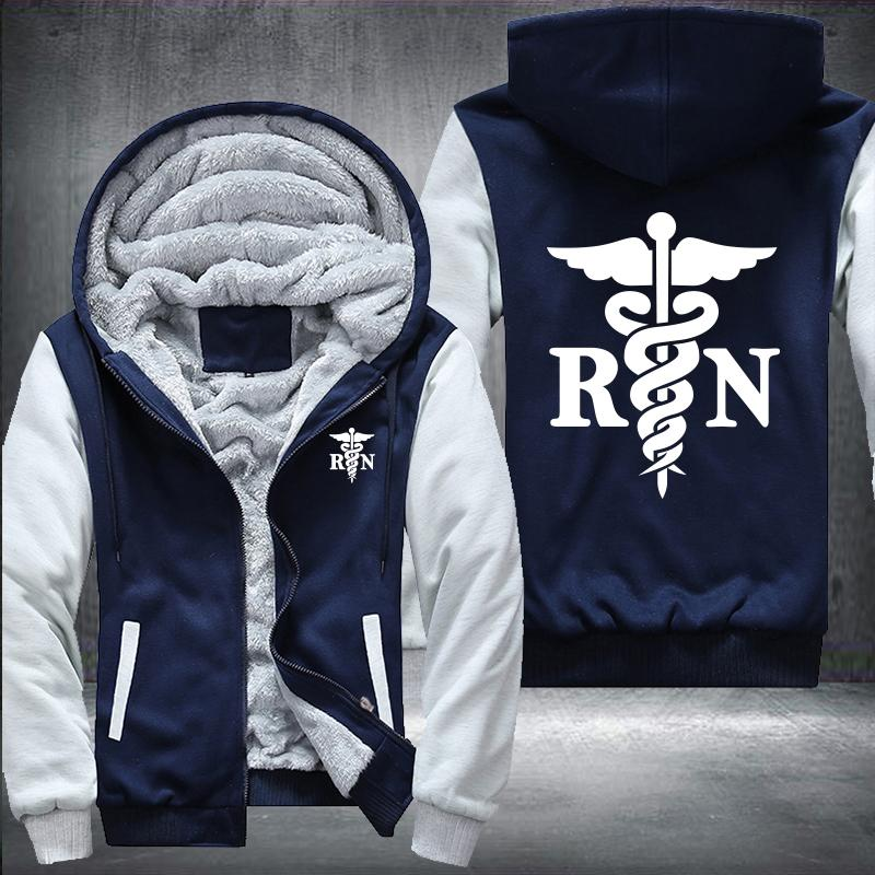 RN Nurse Hooded Jacket