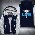 LPN Nurse Hooded Jacket