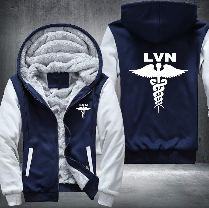 LVN Nurse Hooded Jacket