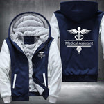 MA/CMA/RMA Medical Assistant Hooded Jacket