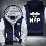 NP Nurse Practitioner Hooded Jacket