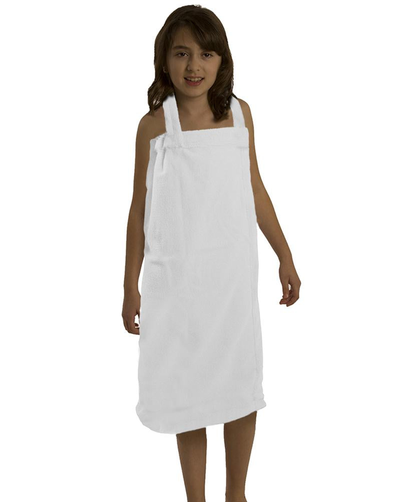 Terry Microfiber Girls Spa Wrap Towels