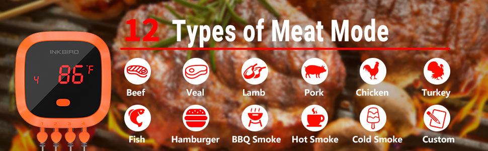BBQ thermometer Banner
