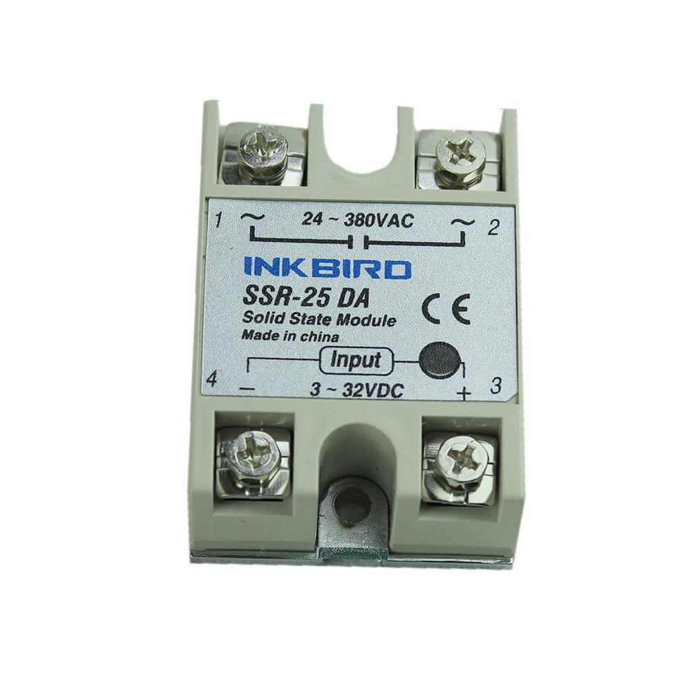 Inkbird SSR for PID Temperature Thermostat Controllers Solid State Relay  for Sous Vide, Home Brewing