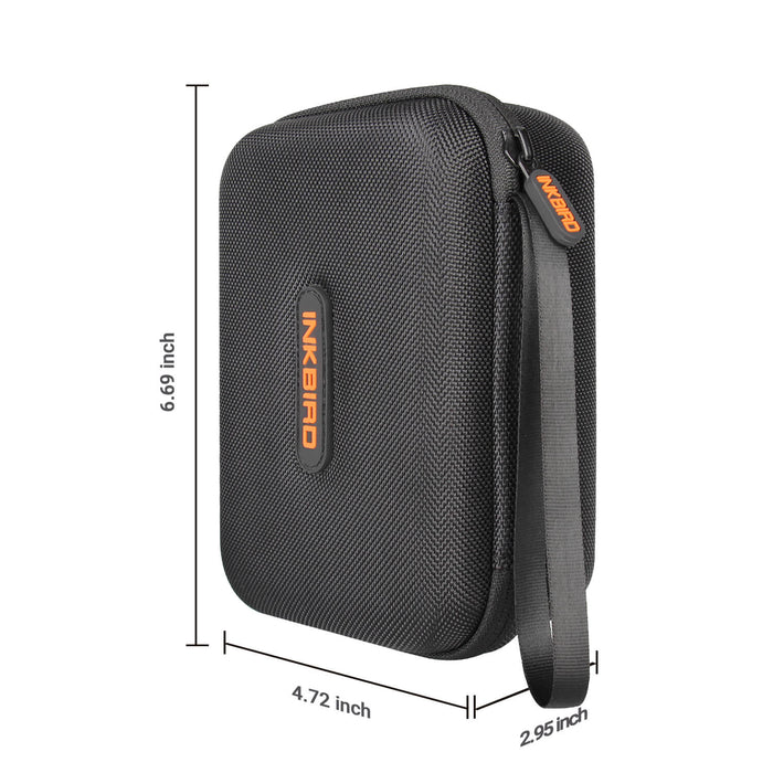 Inkbird Portable Carrying Case Compatible for IBBQ--4T IBT-4XS IBT-4XC IBT-4XP