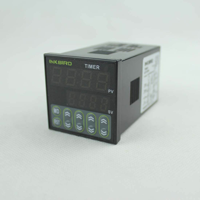 Inkbird Digital Tact Switch Preset Scale Counter Register Twin Timer (IDT-E2RH Timer)