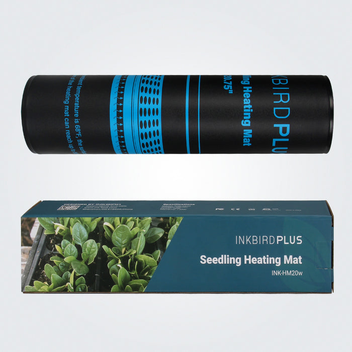 "INKBIRD Waterproof Seedling Heat Mat, Durable Warm Hydroponic Heating Pad for Plant Germination&Indoor Home Gardening, 10""x20.75"", MET Standard US Version Only"