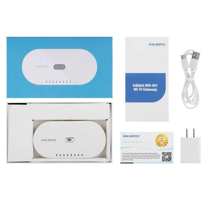Inkbird Long Connection Distance WiFi Gateway IBS-M1