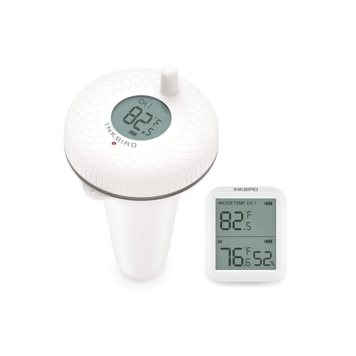 Inkbird IBS-P01R Wireless Indoor & Outdoor Floating Pool Thermometer for Bath Water, Spas, Aquariums