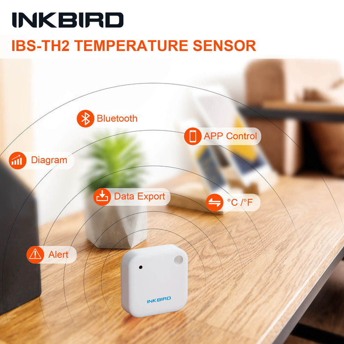 Inkbird IBS-TH2 Smart Sensor Data Logger with Magnet Alert (Temperature version)