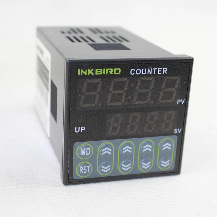 Inkbird Digital Preset Scale Counter Tact Switch Register 100-240V CE IDC-S1RH