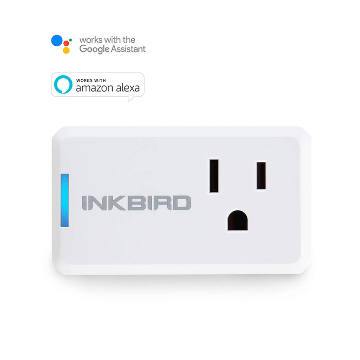 Inkbird INK-WP01 Smart Wi-Fi Plug, APP Remote Control, Works with Alexa Echo and Google Assistant