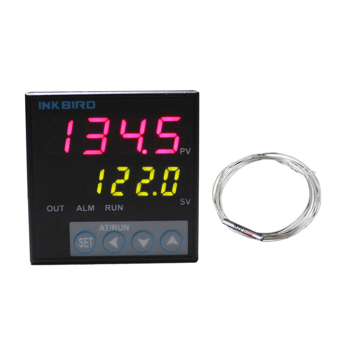 Inkbird F & C Display PID Temperature Controllers ITC-106VH with PT100