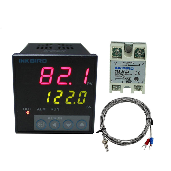 Inkbird ITC-106VL 12V/24V PID Temperature Controllers with K senor or Pt100