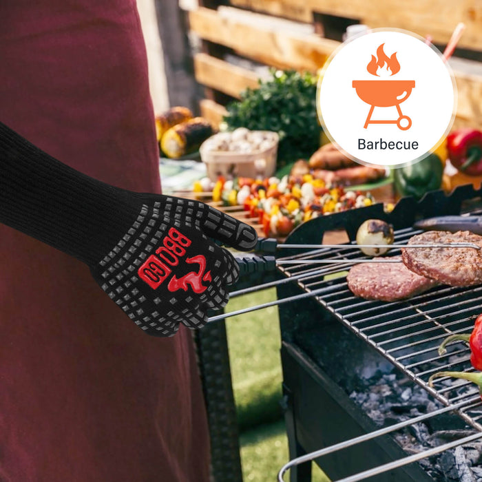 Inkbird 14inch 1472℉ Extreme Heat Resistant BBQ Grilling Gloves