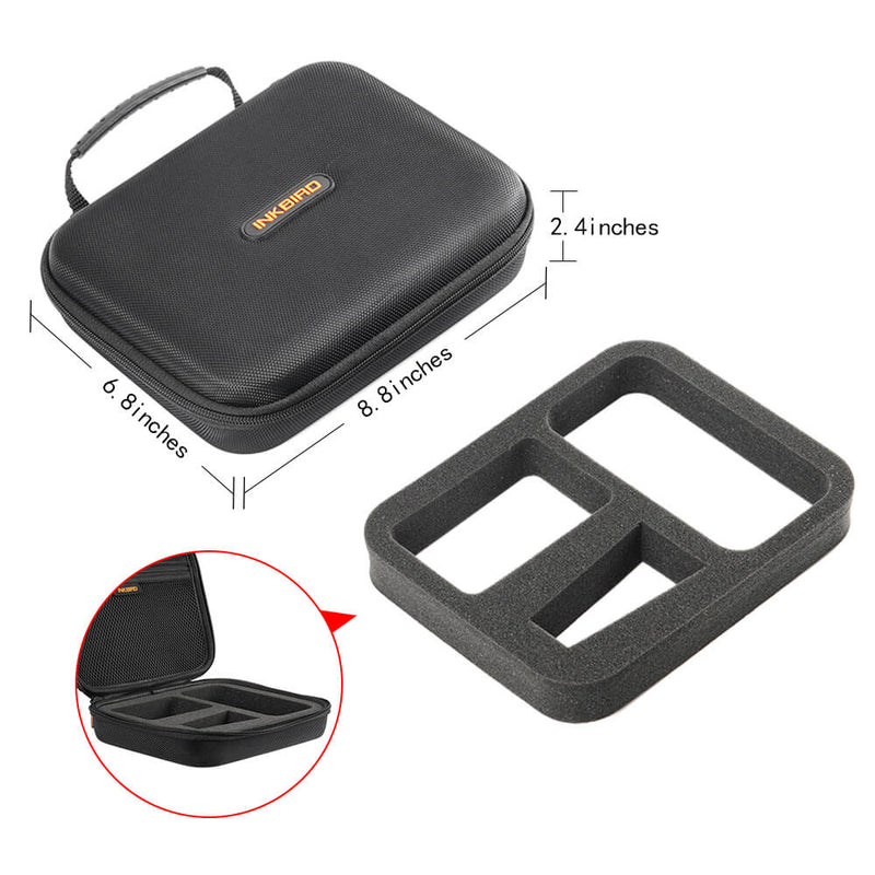 Inkbird Portable Hard Travel Storage Carrying Case Compatible for IRF-4S