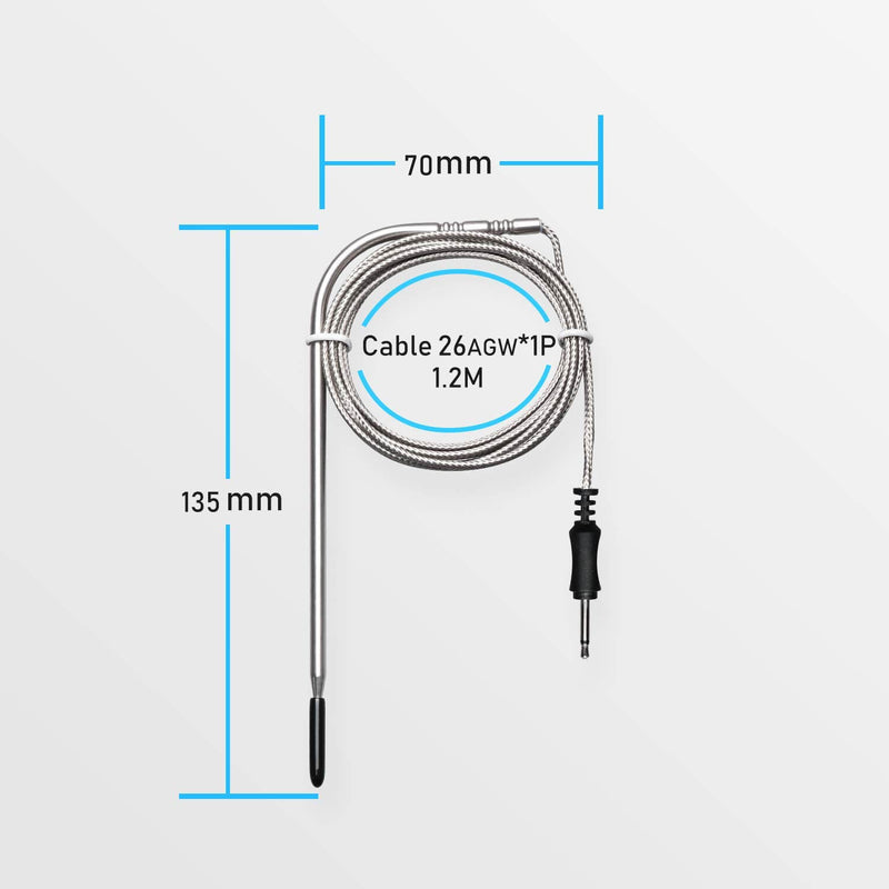 Inkbird Stainless Waterproof Oven Probe or Meat Probe Replacement for IRF-4S