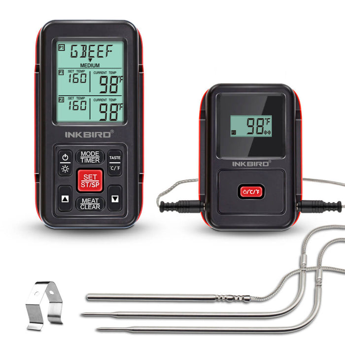 inkbird IRF-2S red three probes
