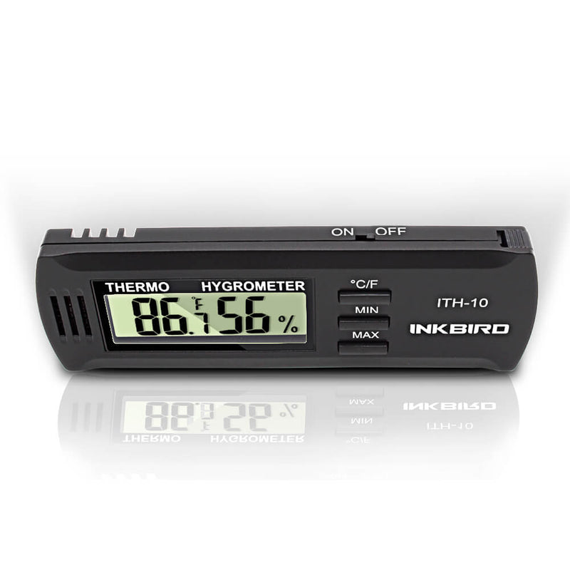 Inkbird Digital Thermometer & Humidity Meter Hygrometer ITH-10