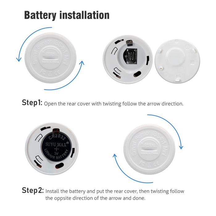 inkbird Mini IBS-TH1 Smart Sensor Battery Installation