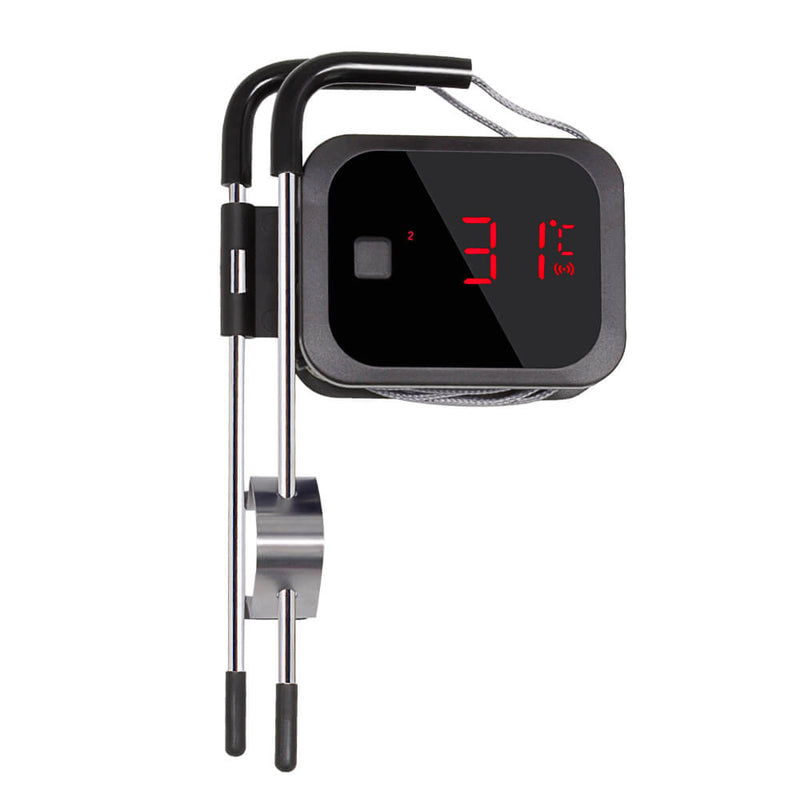 Inkbird Digital Cooking Wireless Bluetooth Grill Thermometer IBT-2X With Stainless Steel Probes