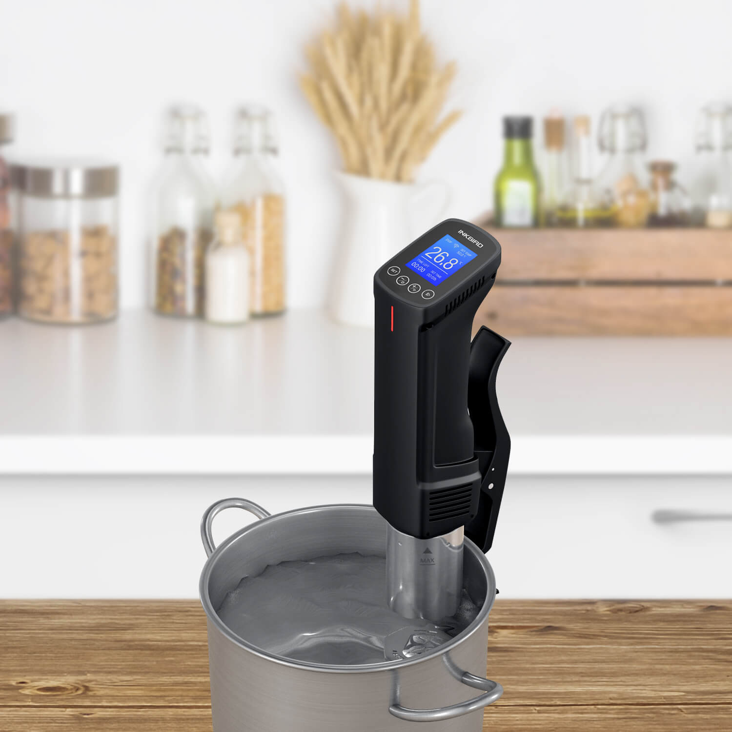 Inkbird Precision WiFi Sous Vide Cooker ISV-100W with Thermal Immersion Circulator
