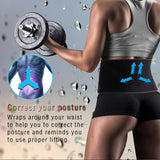 1Pcs Tcare Waist Trimmer Support Belt