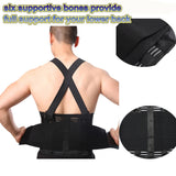 Men Heavy Lift Work Back Brace Lumbar
