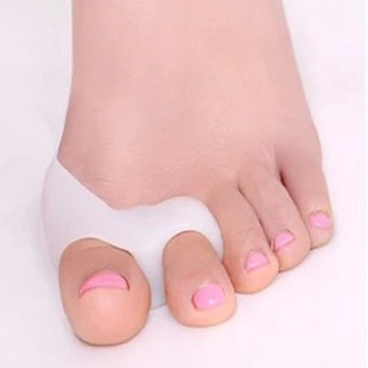 Silicone Gel Foot Fingers Two Hole Toe Separator