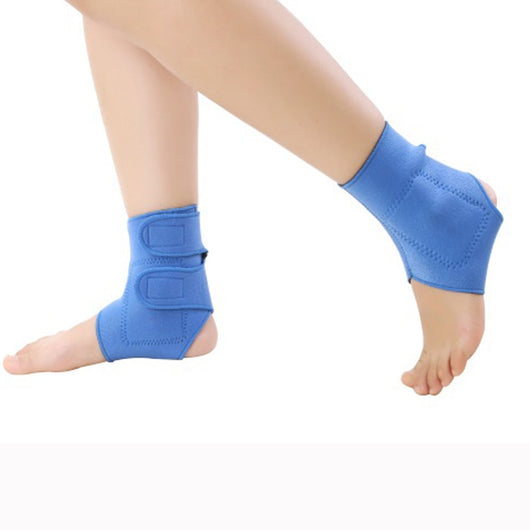 2 pcs Elastic tourmaline magnetic therapy Ankle Brace